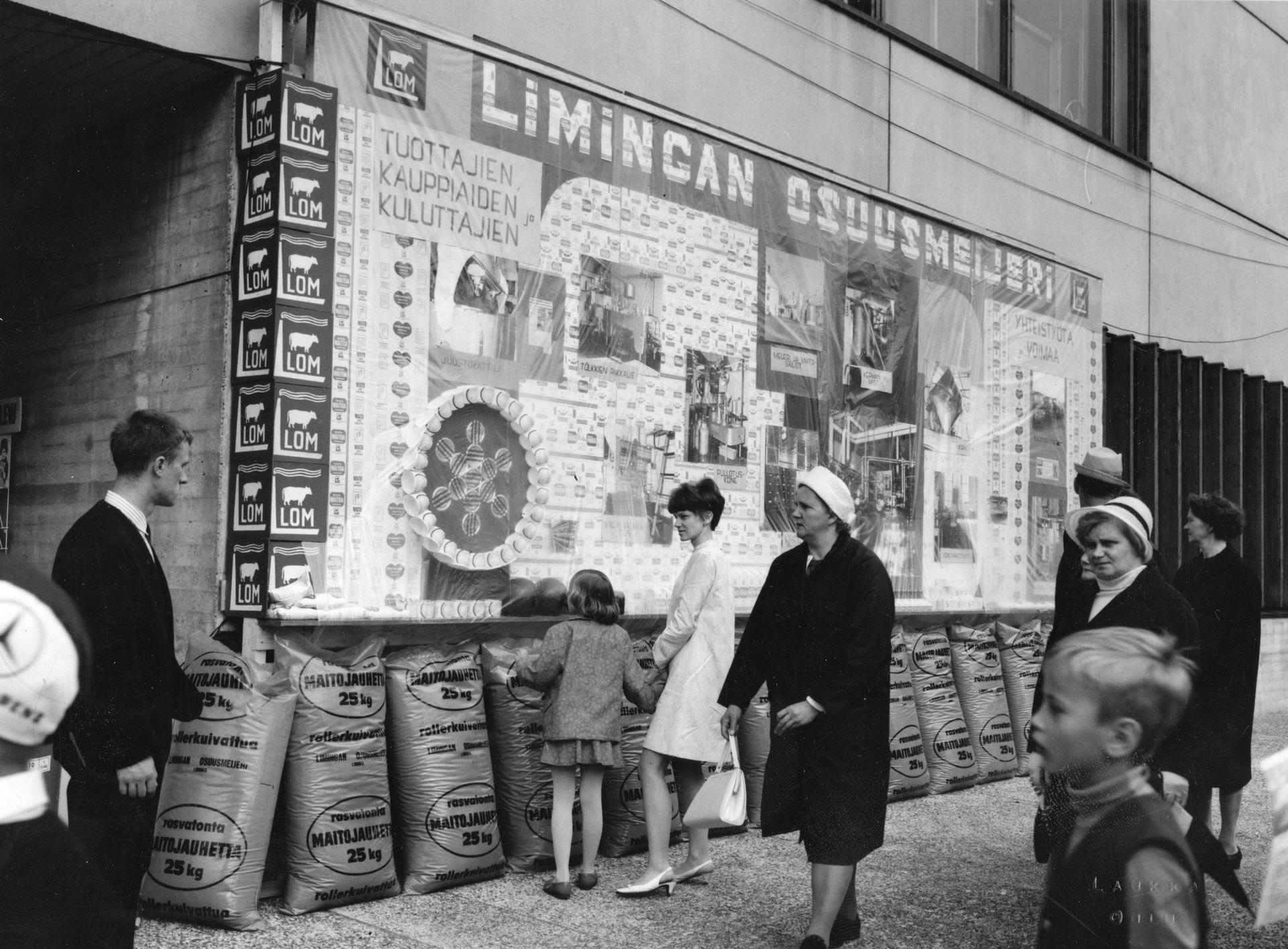 Maatalousnäyttely Limingassa 1959